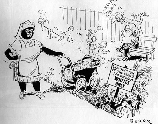 Christ painting of chief luthuli history of apartheid cartoons